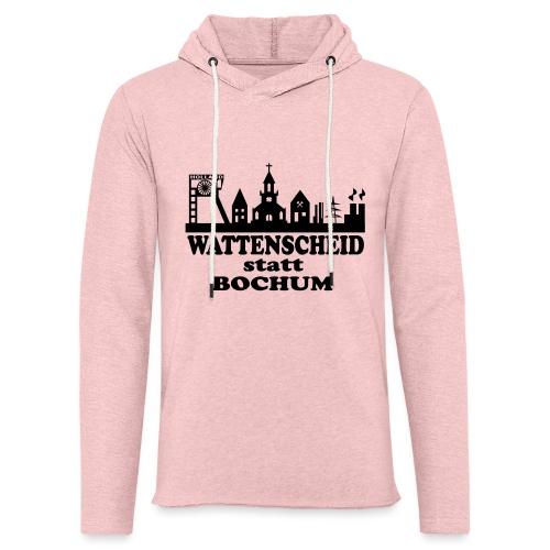 Wattenscheid statt Bochum (Skyline) - Leichtes Kapuzensweatshirt Unisex
