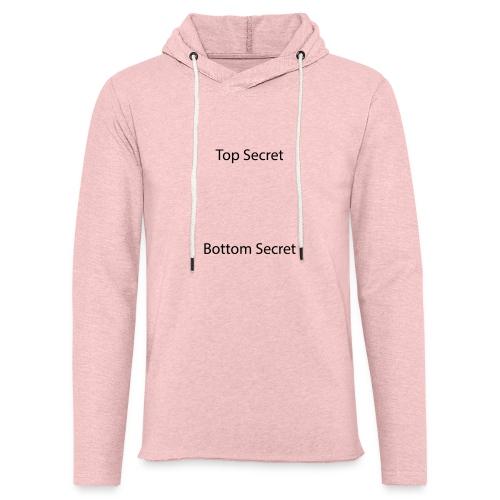 Top Secret / Bottom Secret - Light Unisex Sweatshirt Hoodie