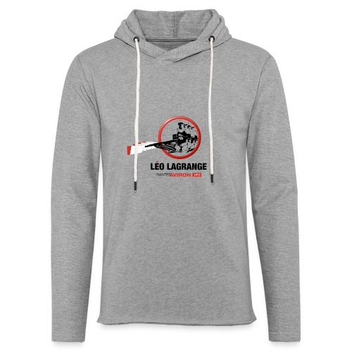 Léo Lagrange Nantes Aviron - Sweat-shirt à capuche léger unisexe