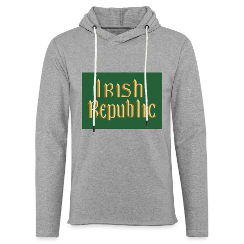 Original Irish Republic Flag - Light Unisex Sweatshirt Hoodie