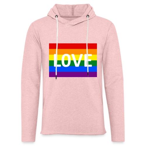 LOVE RETRO T-SHIRT - Let sweatshirt med hætte, unisex