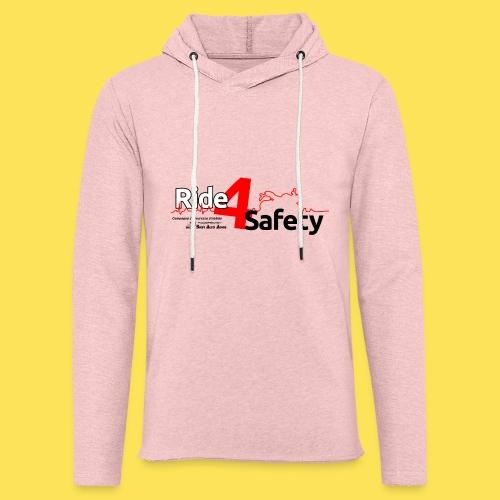 Ride4Safety - Felpa con cappuccio leggera unisex