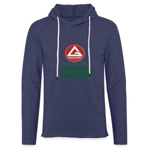Gracie Barra Dublin Gaelic Celtic Font PNG - Light Unisex Sweatshirt Hoodie
