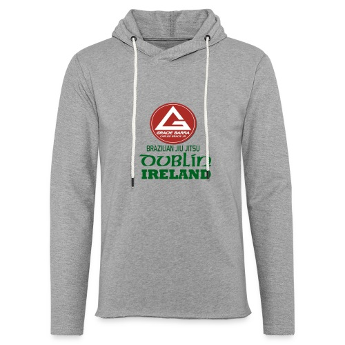 Gracie Barra Dublin Gaelic Celtic Font PNG - Light Unisex Sweatshirt Hoodie