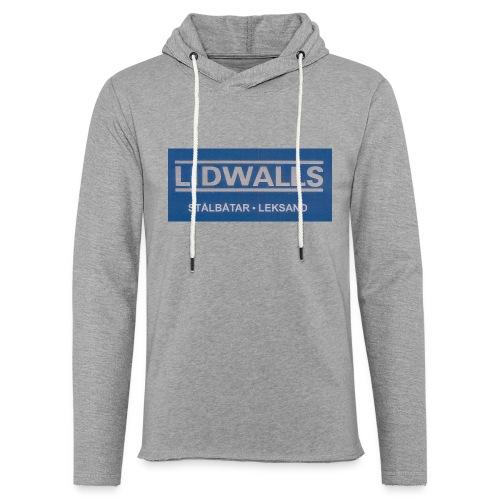 Lidwalls Stålbåtar - Lätt luvtröja unisex