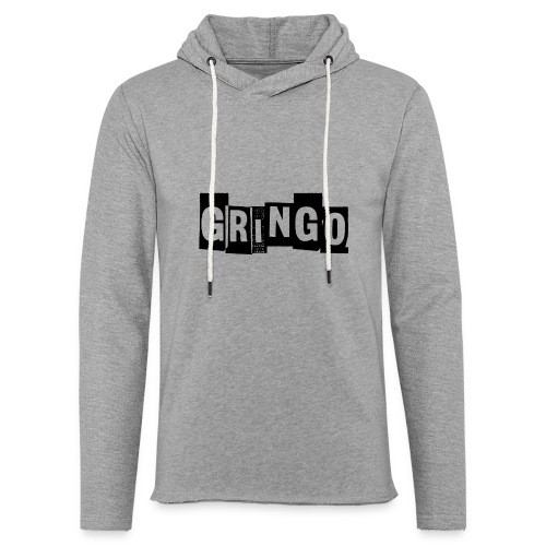 Cartel Gangster pablo gringo mexico tshirt - Light Unisex Sweatshirt Hoodie