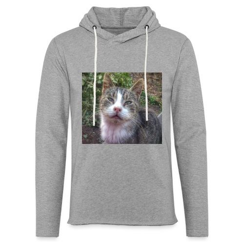 Katze Max - Leichtes Kapuzensweatshirt Unisex