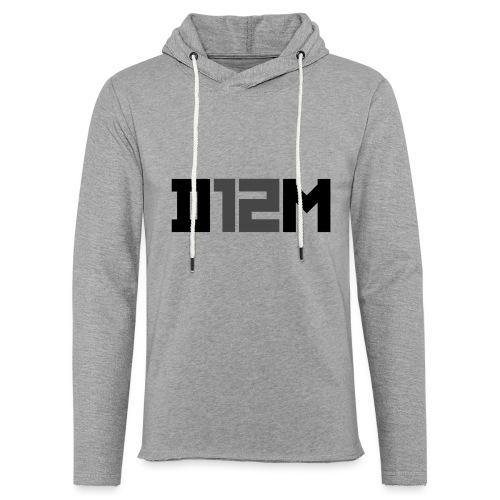 D12M: SHORT BLACK - Lichte hoodie unisex
