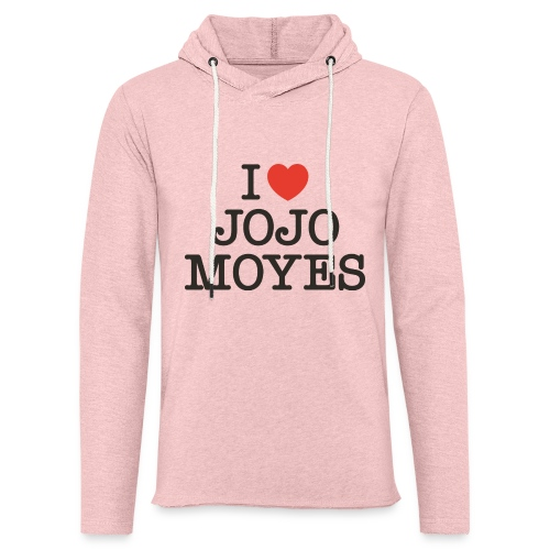 I LOVE JOJO MOYES - Let sweatshirt med hætte, unisex