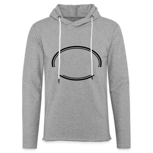 Kreis offen - Leichtes Kapuzensweatshirt Unisex