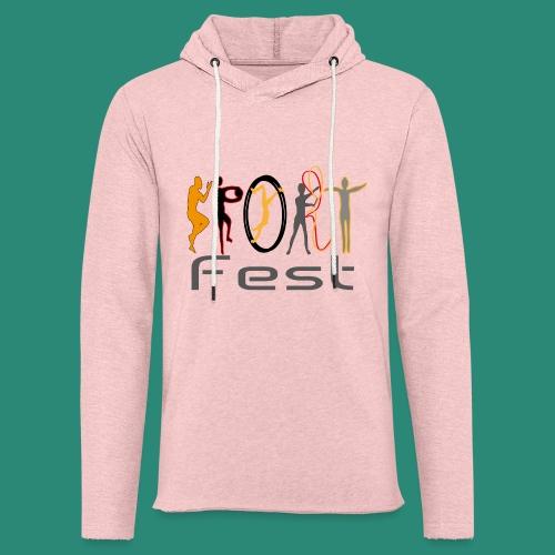 sportfest - Leichtes Kapuzensweatshirt Unisex