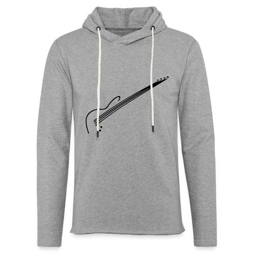 E-Bass - Leichtes Kapuzensweatshirt Unisex