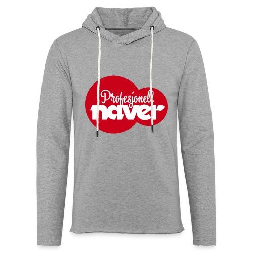Provesjonell naver (fra Det norske plagg) - Lett unisex hette-sweatshirt