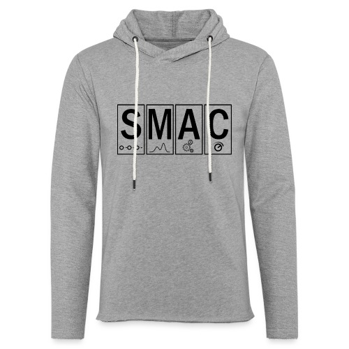 SMAC3_large - Light Unisex Sweatshirt Hoodie