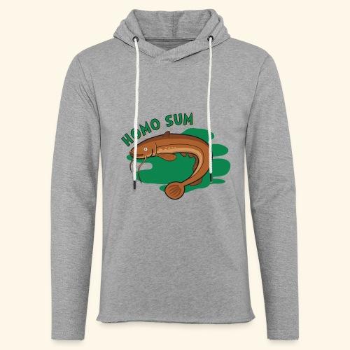 Homo sum ;) - Lekka bluza z kapturem