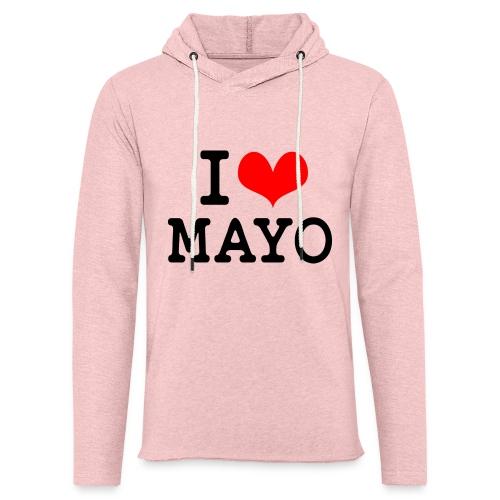 I Love Mayo - Light Unisex Sweatshirt Hoodie