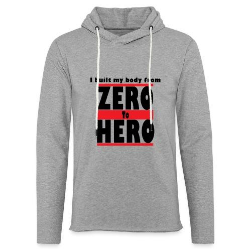 Zero To Hero - Kevyt unisex-huppari