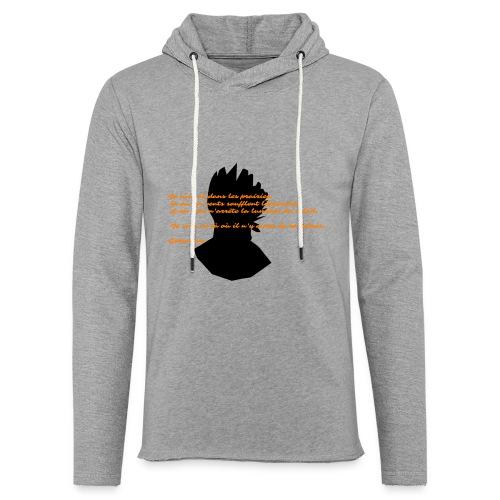 geronimo 2 - Sweat-shirt à capuche léger unisexe