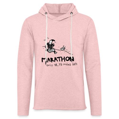 marathon-png - Lekka bluza z kapturem