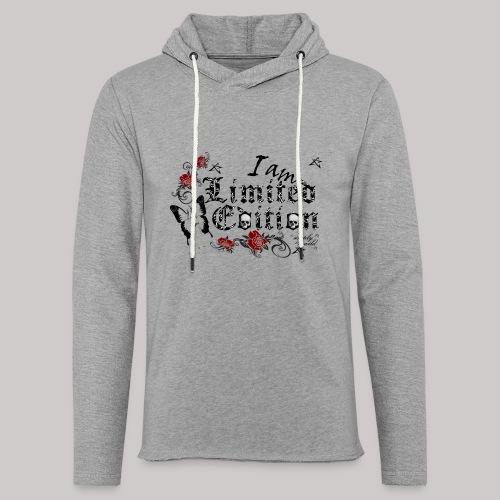 simply wild limited Edition on white - Leichtes Kapuzensweatshirt Unisex