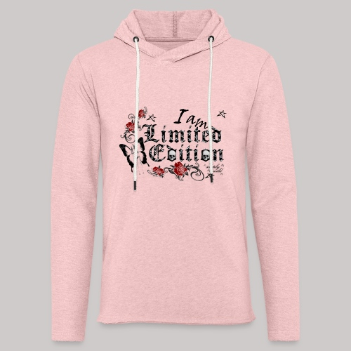 simply wild limited Edition on white - Leichtes Kapuzensweatshirt Unisex