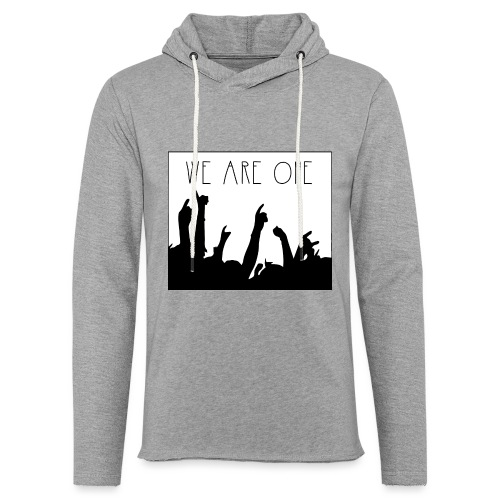 We Are One Hoody Men - Lichte hoodie unisex