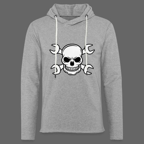 MEKKER SKULL - Let sweatshirt med hætte, unisex