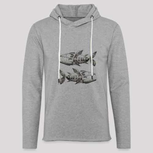 FishEtching - Light Unisex Sweatshirt Hoodie