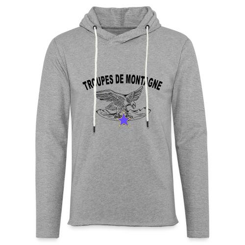 choucasTDM dos - Sweat-shirt à capuche léger unisexe