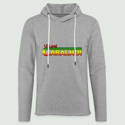 caralho - Sweat-shirt à capuche léger unisexe