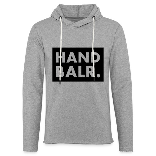 Handbalr Wit - Lichte hoodie unisex