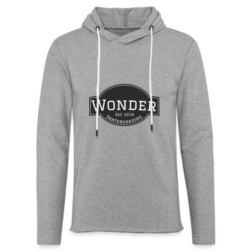 Wonder T-shirt - ol' small logo - Let sweatshirt med hætte, unisex