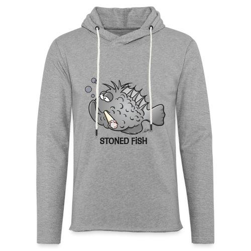 stonedfish - Leichtes Kapuzensweatshirt Unisex