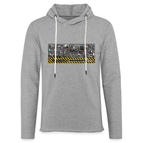 #MarchOfRobots ! LineUp Nr 1 - Let sweatshirt med hætte, unisex