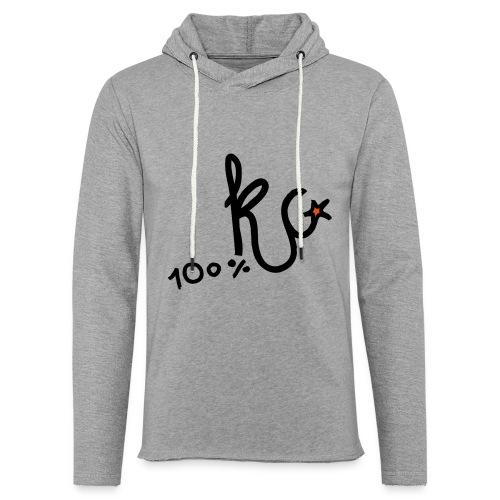 100%KC - Lichte hoodie unisex