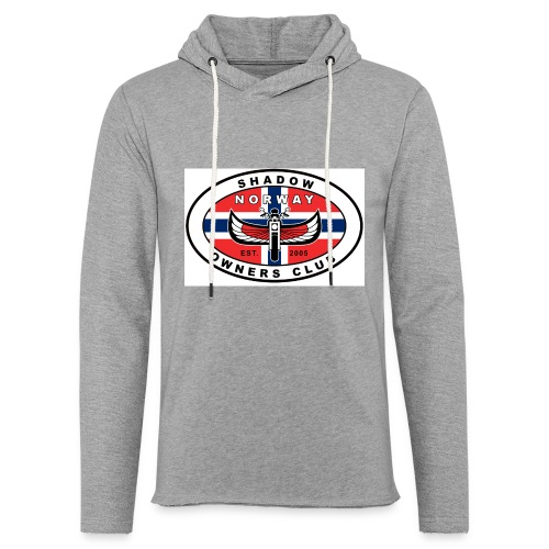 SHOC Norway Patch jpg - Lett unisex hette-sweatshirt