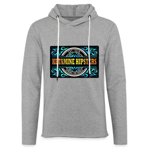 Black Vintage - KETAMINE HIPSTERS Apparel - Light Unisex Sweatshirt Hoodie