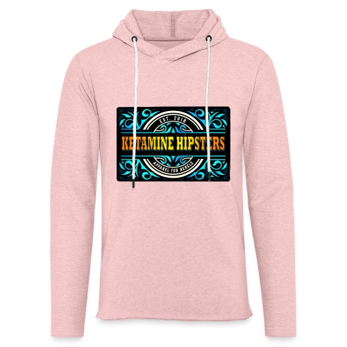 Black Vintage - KETAMINE HIPSTERS Apparel - Light Unisex Sweatshirt Hoodie