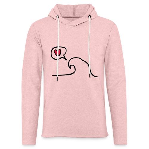 Love Wave - Lichte hoodie unisex