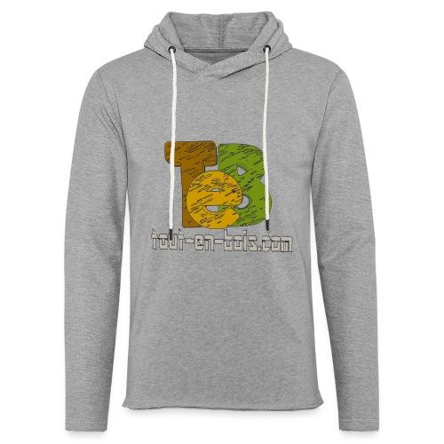 logo TEB classique - Sweat-shirt à capuche léger unisexe