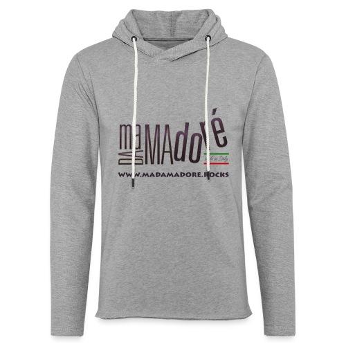 T-Shirt Premium - Donna - Logo Standard + Sito - Felpa con cappuccio leggera unisex