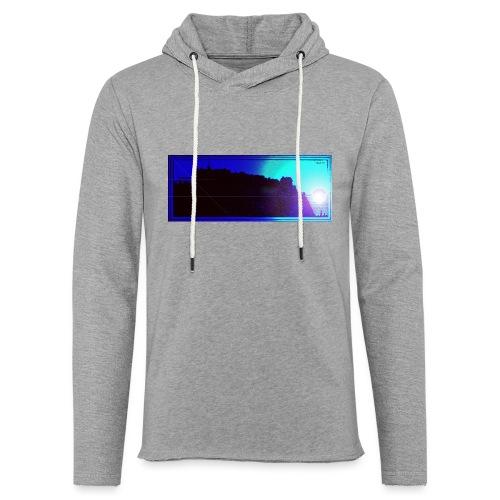 Silhouette of Edinburgh Castle - Light Unisex Sweatshirt Hoodie