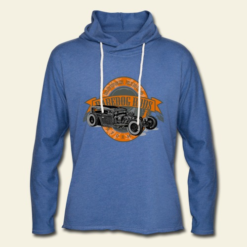 Raredog Rods Logo - Let sweatshirt med hætte, unisex