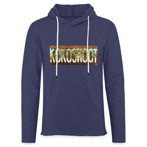 Kokosnoot - Lichte hoodie unisex