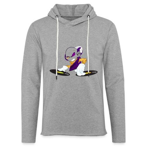 Disc jockey - Sweat-shirt à capuche léger unisexe