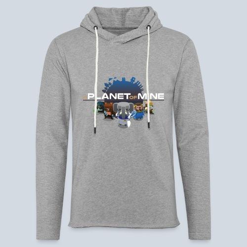 logo planetofmine dark HD - Sweat-shirt à capuche léger unisexe