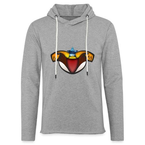 TeamLevelUP - Let sweatshirt med hætte, unisex