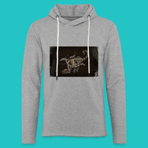 skorpion_grafika-jpg - Lekka bluza z kapturem