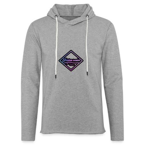 jordan sennior logo - Light Unisex Sweatshirt Hoodie