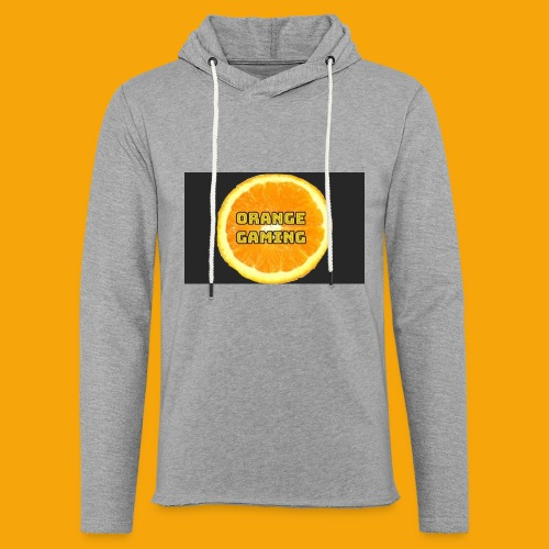 Orange_Logo_Black - Light Unisex Sweatshirt Hoodie